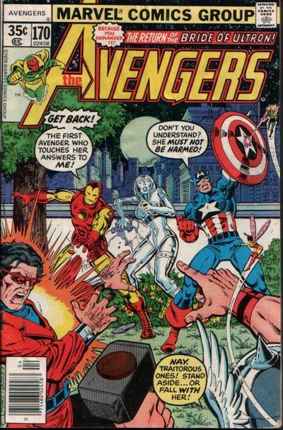 Cover for The Avengers (Marvel, 1963 series) #170 [Regular Edition]