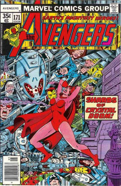 Cover for The Avengers (Marvel, 1963 series) #171 [Regular Edition]