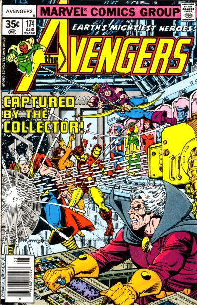 Cover for The Avengers (Marvel, 1963 series) #174 [Regular Edition]