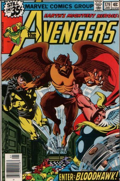 Cover for The Avengers (Marvel, 1963 series) #179 [Regular Edition]