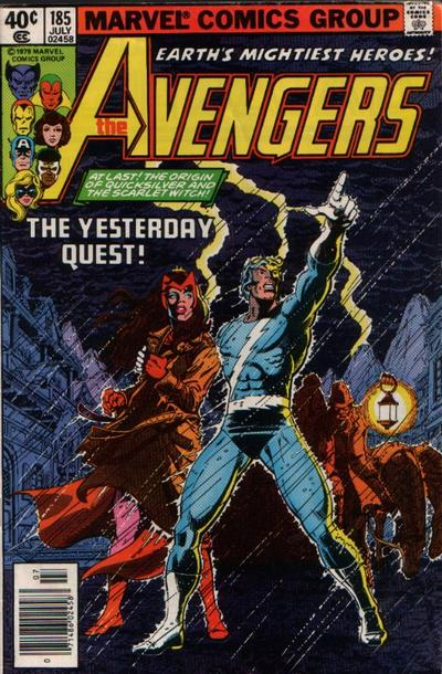 Cover for The Avengers (Marvel, 1963 series) #185 [Direct Edition]