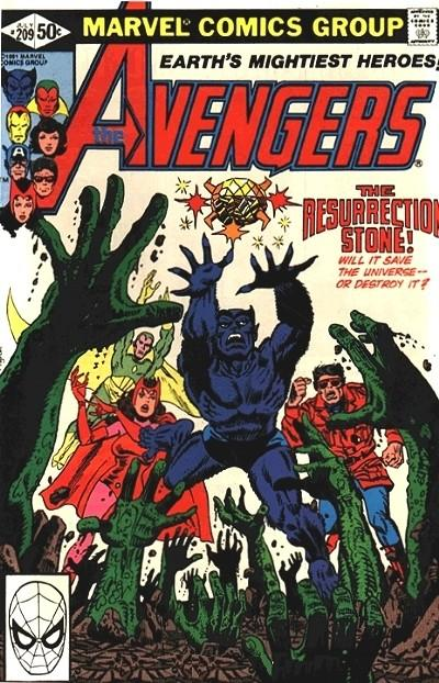Cover for The Avengers (Marvel, 1963 series) #209 [British Variant]