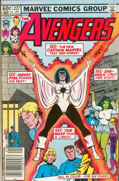 Cover for The Avengers (Marvel, 1963 series) #227 [Direct]
