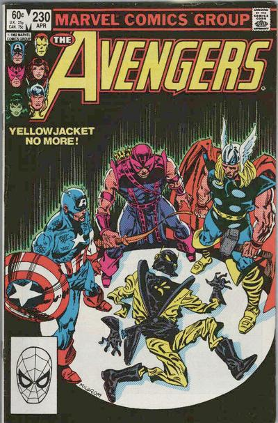 Cover for The Avengers (Marvel, 1963 series) #230 [Direct Edition]