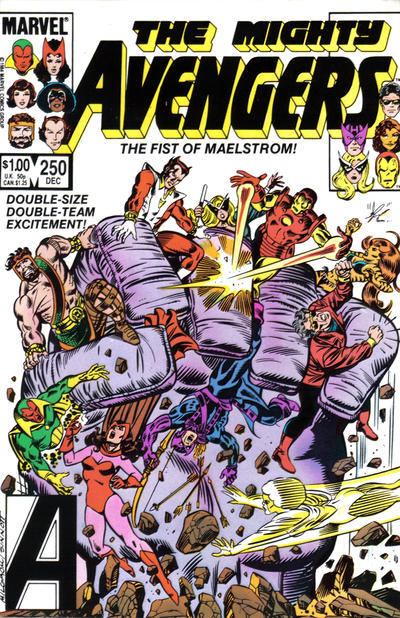 Cover for The Avengers (Marvel, 1963 series) #250 [Direct Edition]