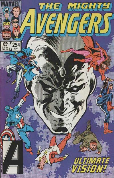 Cover for The Avengers (Marvel, 1963 series) #254 [Direct]