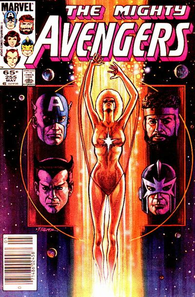 Cover for The Avengers (Marvel, 1963 series) #255 [Direct Edition]