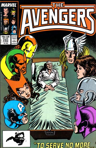 Cover for The Avengers (Marvel, 1963 series) #280 [Direct Edition]