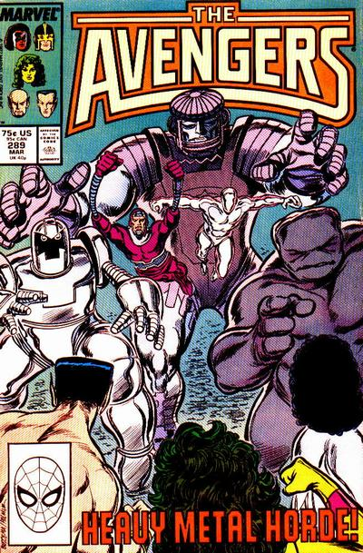 Cover for The Avengers (Marvel, 1963 series) #289 [Direct Edition]