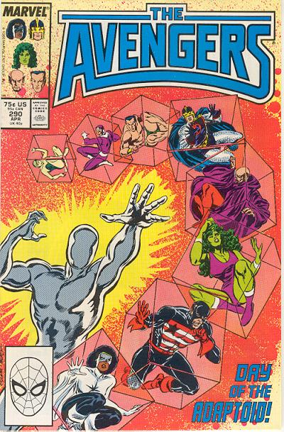 Cover for The Avengers (Marvel, 1963 series) #290 [Direct Edition]
