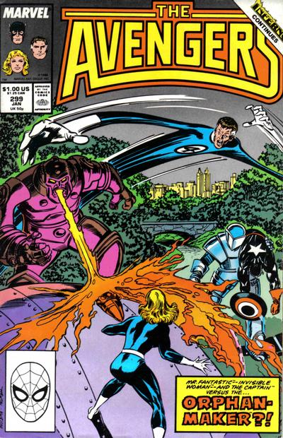 Cover for The Avengers (Marvel, 1963 series) #299 [Direct Edition]