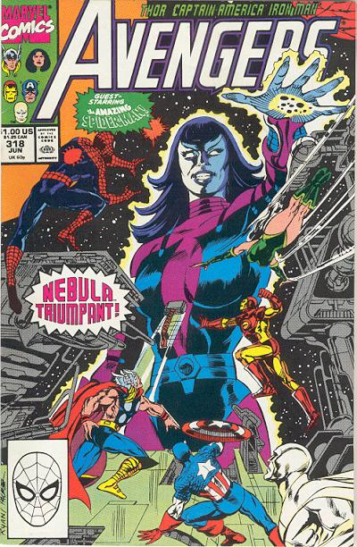 Cover for The Avengers (Marvel, 1963 series) #318 [Direct Edition]