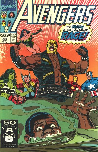 Cover for The Avengers (Marvel, 1963 series) #328 [Direct]