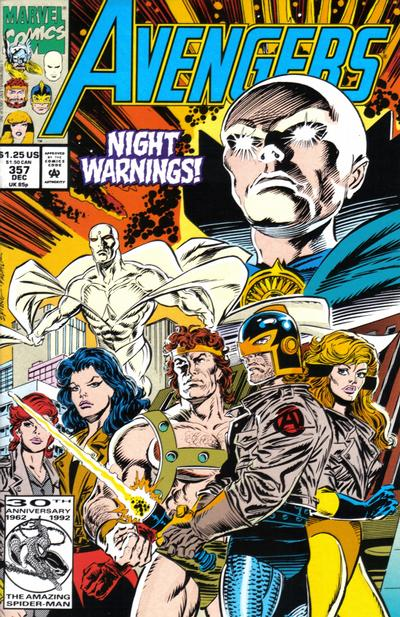 Cover for The Avengers (Marvel, 1963 series) #357 [Direct Edition]