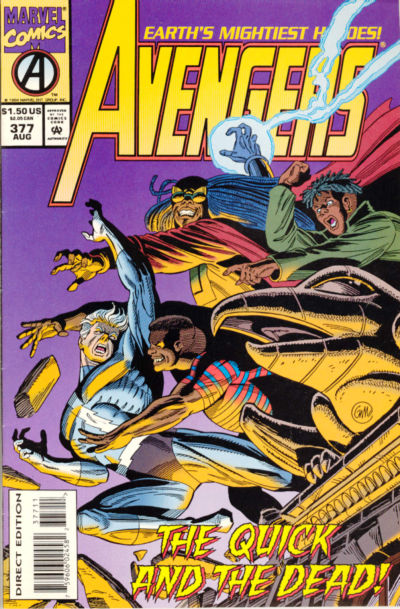 Cover for The Avengers (Marvel, 1963 series) #377 [Direct Edition]
