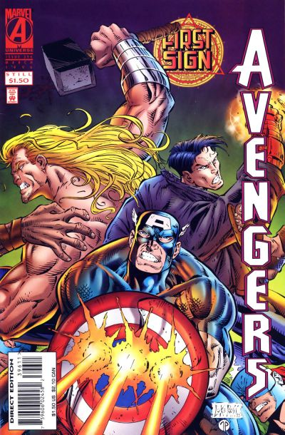 Cover for The Avengers (Marvel, 1963 series) #396 [Direct Edition]