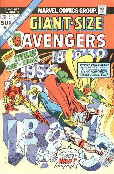 Cover for Giant-Size Avengers (Marvel, 1974 series) #3