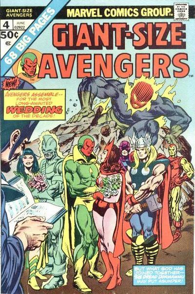 Cover for Giant-Size Avengers (Marvel, 1974 series) #4