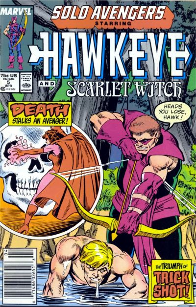 Cover for Solo Avengers (Marvel, 1987 series) #5 [Direct]