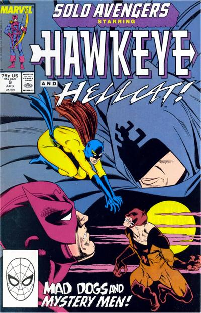 Cover for Solo Avengers (Marvel, 1987 series) #9 [Direct]