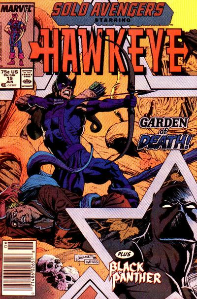 Cover for Solo Avengers (Marvel, 1987 series) #19 [Direct]