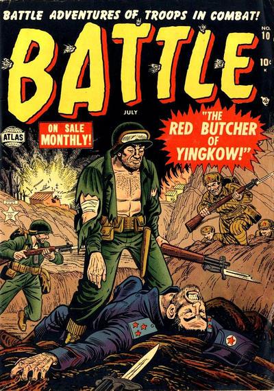 Cover for Battle (Marvel, 1951 series) #10