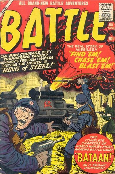 Cover for Battle (Marvel, 1951 series) #65