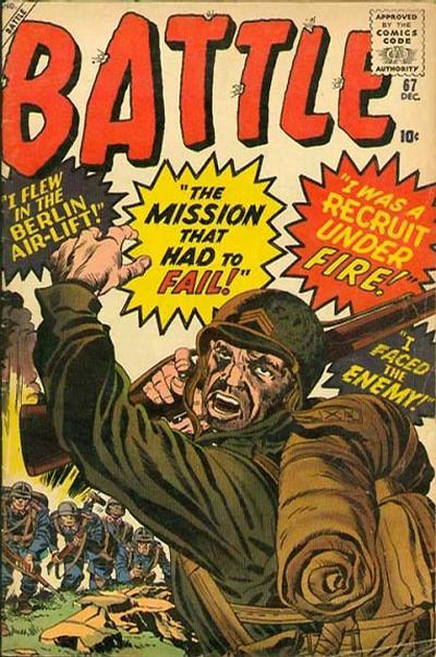 Cover for Battle (Marvel, 1951 series) #67