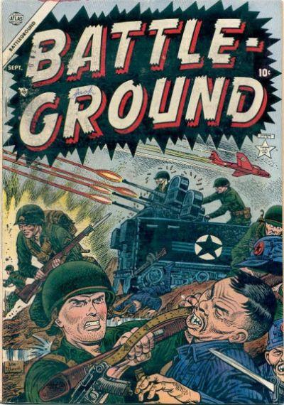 Cover for Battleground (Marvel, 1954 series) #1