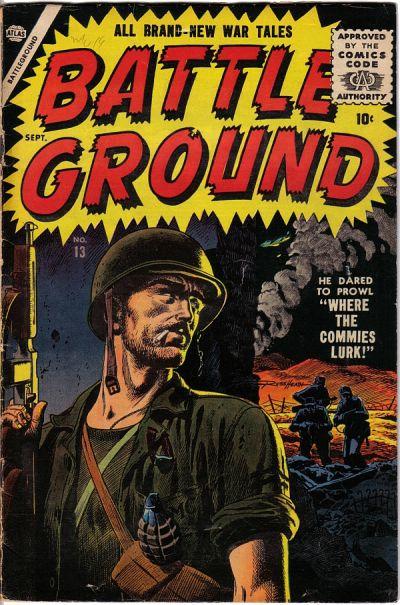 Cover for Battleground (Marvel, 1954 series) #13