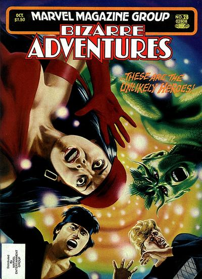 Cover for Bizarre Adventures (Marvel, 1981 series) #28