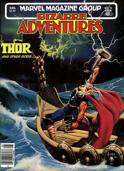 Cover for Bizarre Adventures (Marvel, 1981 series) #32