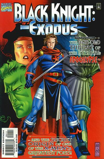 Cover for Black Knight: Exodus (Marvel, 1996 series) #1