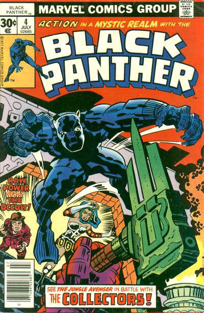 Cover for Black Panther (Marvel, 1977 series) #4 [30 cent cover]