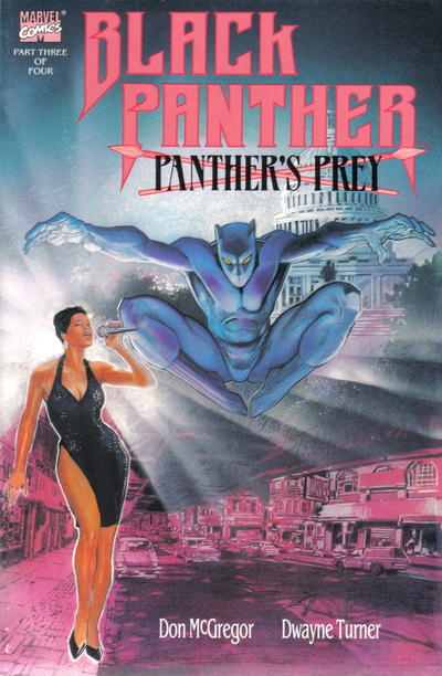 Cover for Black Panther: Panther's Prey (Marvel, 1991 series) #3