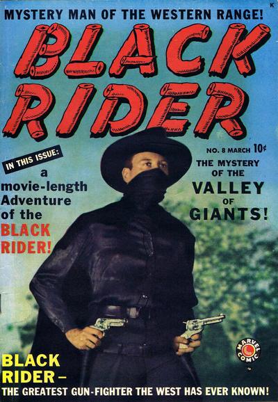 Cover for Black Rider (Marvel, 1950 series) #8
