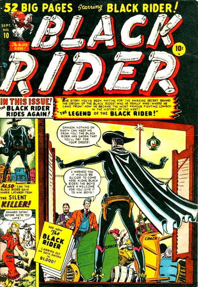 Cover for Black Rider (Marvel, 1950 series) #10