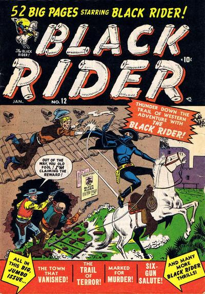 Cover for Black Rider (Marvel, 1950 series) #12