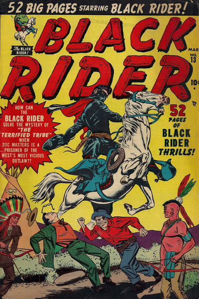 Cover for Black Rider (Marvel, 1950 series) #13