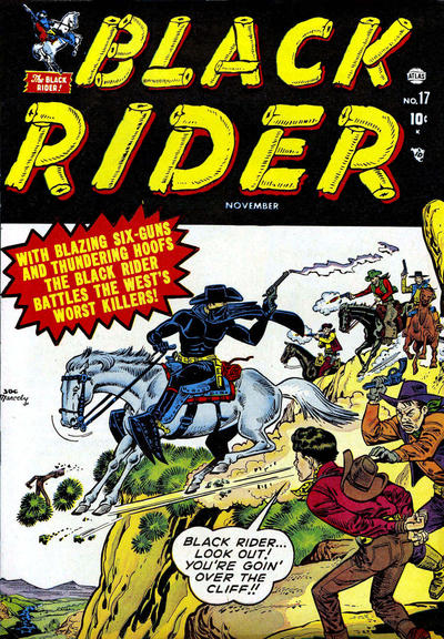 Cover for Black Rider (Marvel, 1950 series) #17
