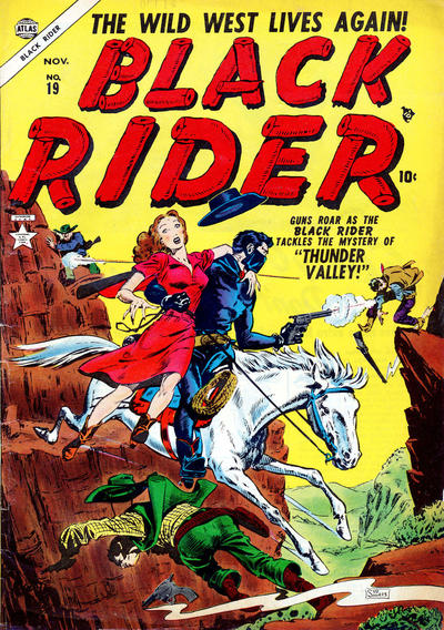 Cover for Black Rider (Marvel, 1950 series) #19