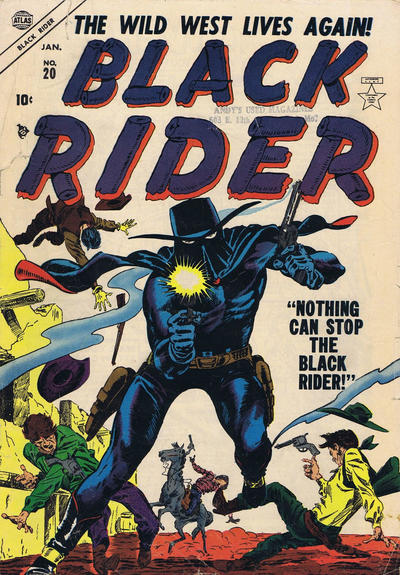 Cover for Black Rider (Marvel, 1950 series) #20