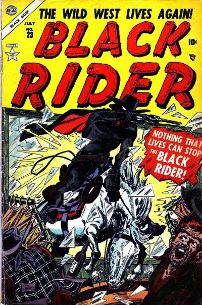 Cover for Black Rider (Marvel, 1950 series) #23