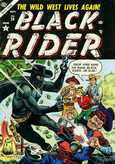 Cover for Black Rider (Marvel, 1950 series) #24