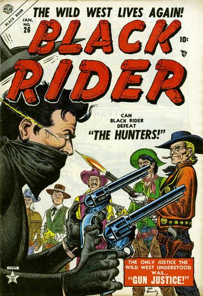 Cover for Black Rider (Marvel, 1950 series) #26