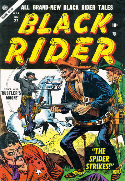 Cover for Black Rider (Marvel, 1950 series) #27