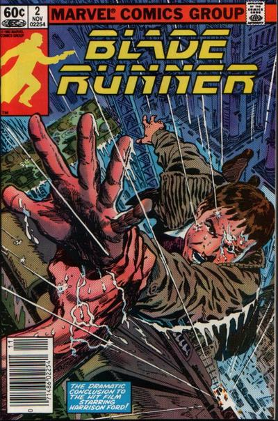 Cover for Blade Runner (Marvel, 1982 series) #2 [Newsstand]
