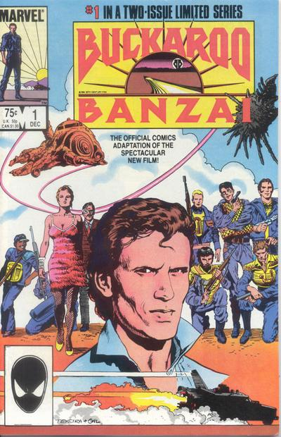 Cover for Buckaroo Banzai (Marvel, 1984 series) #1