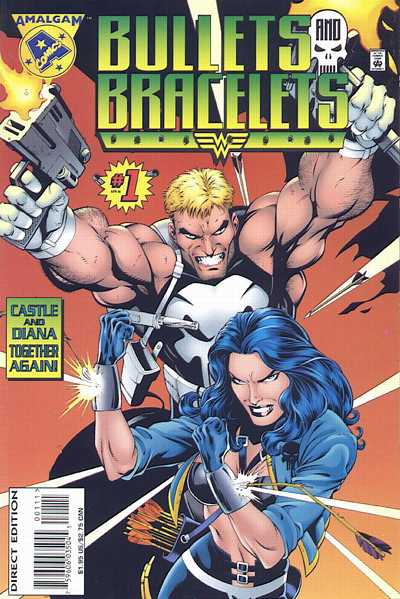 Cover for Bullets and Bracelets (Marvel, 1996 series) #1 [Direct Edition]
