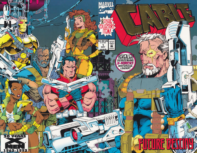 Cover for Cable (Marvel, 1993 series) #1 [No Gold Foil Variant]